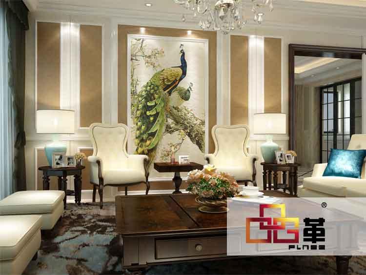 主要适用于电视背景墙,沙发背景墙,公司形象墙,中欧式中堂画,酒店大