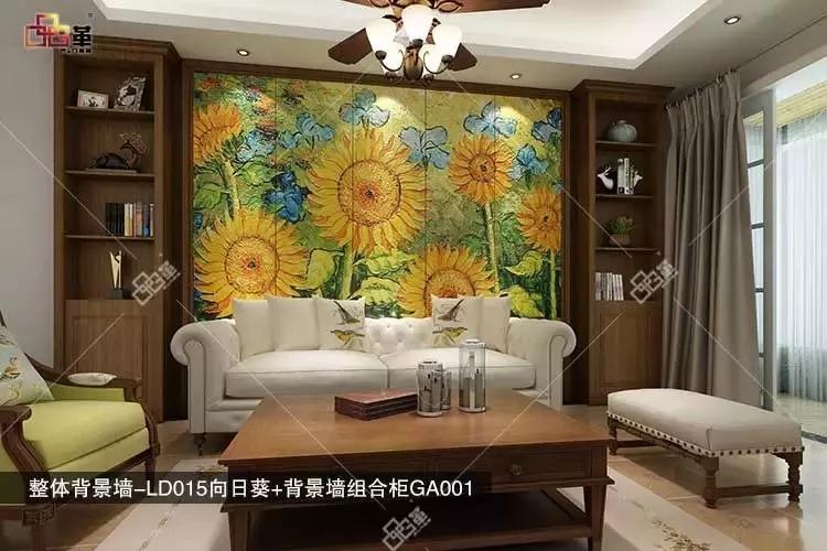 > 品革欧式皮雕背景墙,追求形体的变化和层次感  中式风格背景墙有了图片
